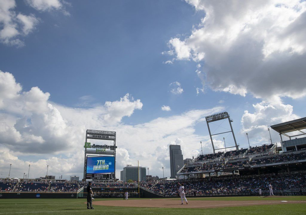 Full capacity now expected at College World Series