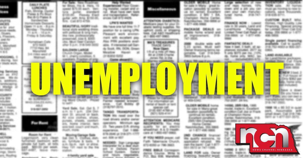 Unemployment rate ticks up slightly in Omaha, Lincoln