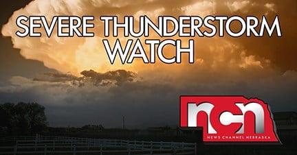 Weather service places Nebraska Panhandle, northeast Colorado in severe thunderstorm watch
