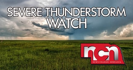 Severe thunderstorm watch in place for western Nebraska panhandle, southeast Wyoming