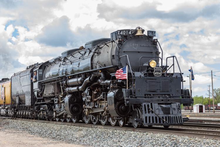 With three overnight Nebraska stops, Big Boy starts its journey