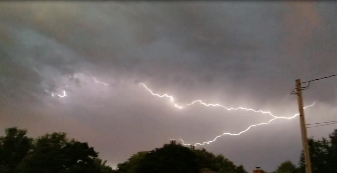 Severe thunderstorm warning for southwest Nebraska