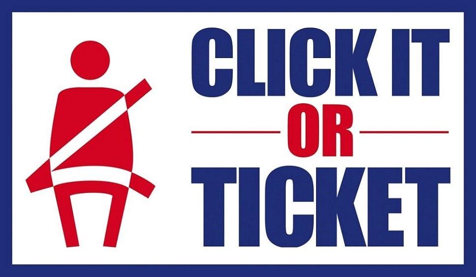 Click it-or-Ticket campaign underway
