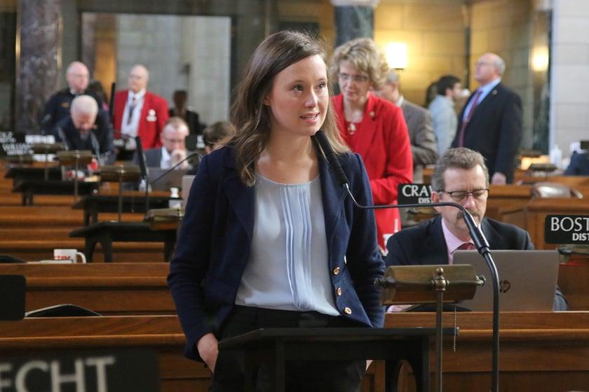 State Senator Anna Wishart