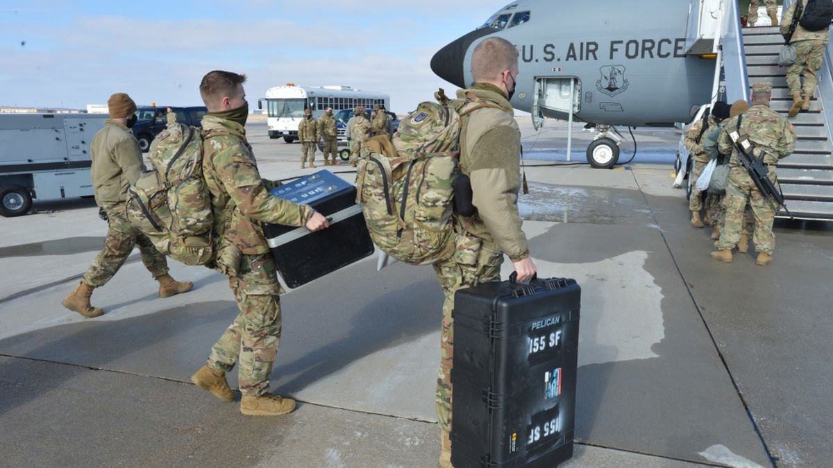 Neb. National Guard deploying 150 soldiers to US border
