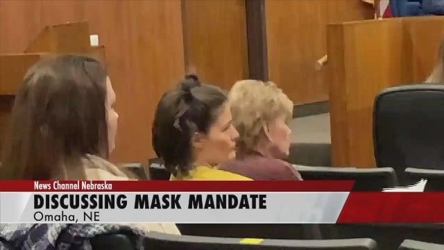 Omaha mask mandate officially ending