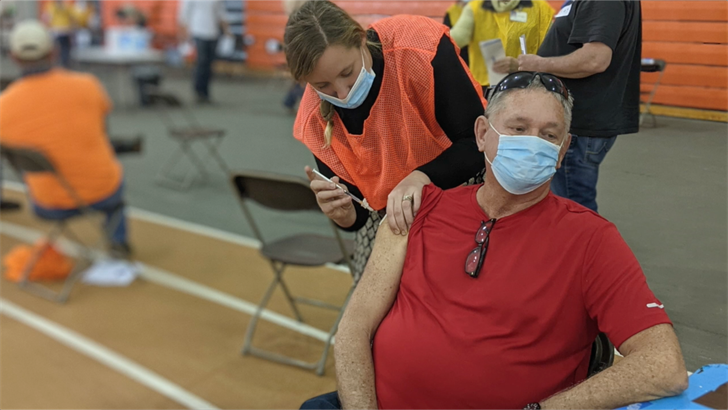 Nebraska vaccinated more than 120,000 for virus last week