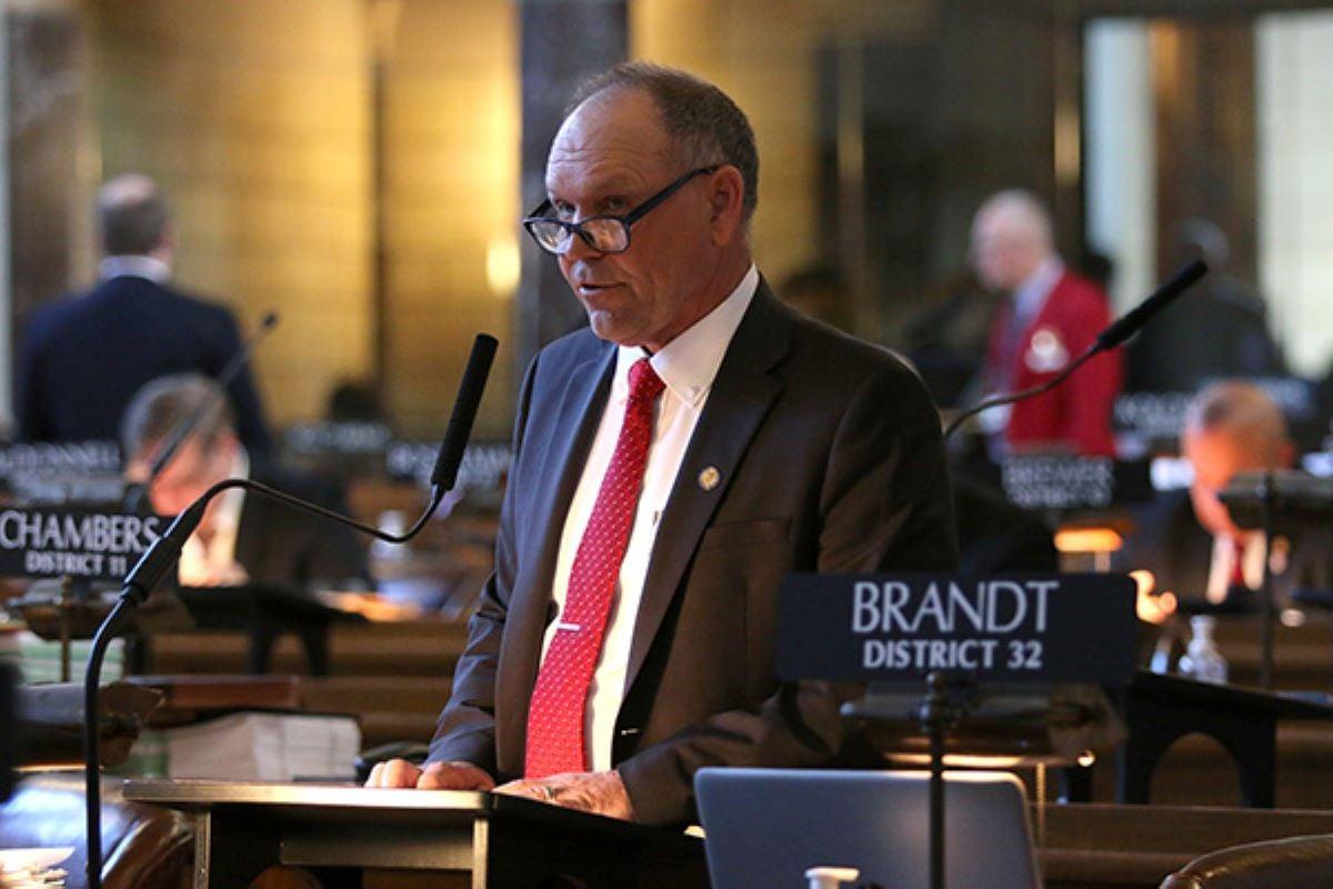 Brandt pursing second term in Nebraska Legislature