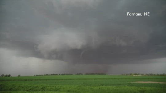 Severe weather developing throughout Nebraska