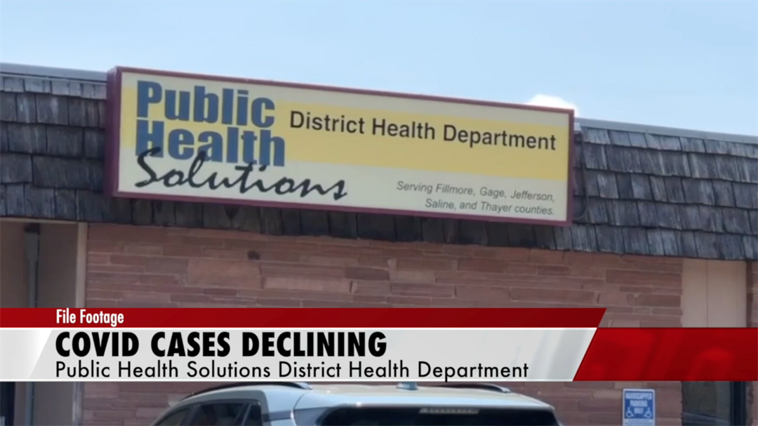 COVID cases continue to drop in PHS district