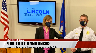 Lincoln names fire chief, continues search for police chief