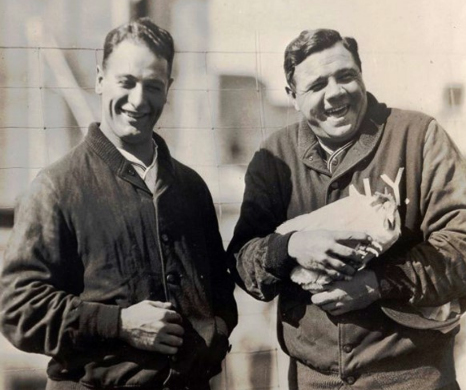 For a year, Babe Ruth and a Norfolk hen shared headlines as record-setters