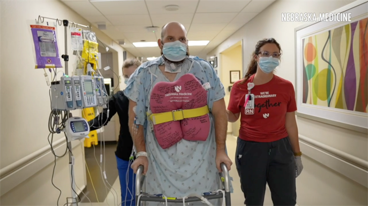 'I can breathe normal,' Nebraska COVID-patient feels good after double lung transplant
