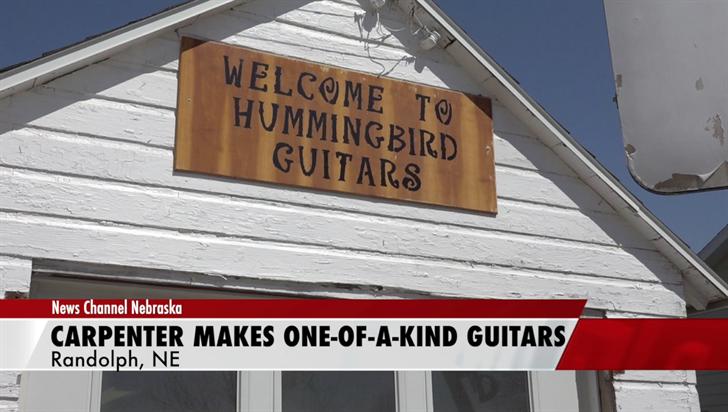 Carpenter makes one-of-a-kind guitars