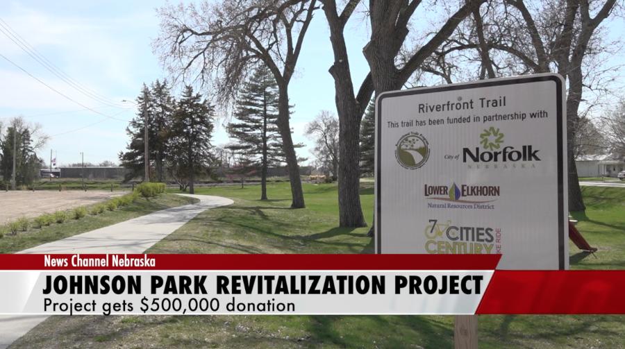 Johnson Park Revitalization project receives $500,000 donation