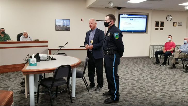 Beatrice Police elevate officer to Sergeant