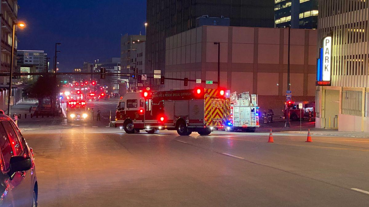 Underground electrical explosions cause Omaha hotel evacuation