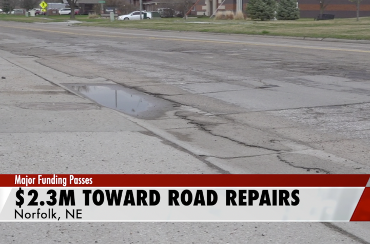 $2.3M going toward road repairs in Norfolk