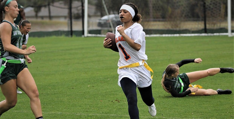 Following their passion, women go far to play flag football