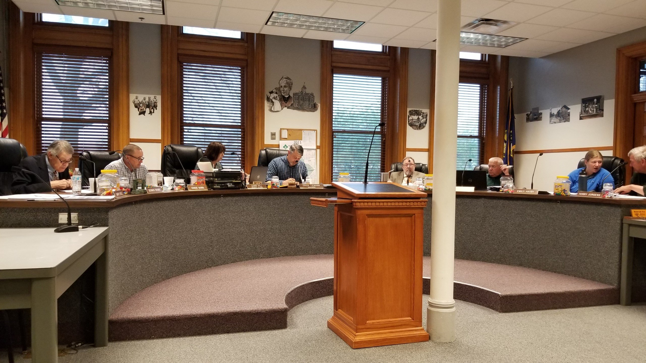 Gage County Board adds paving under prior construction contract