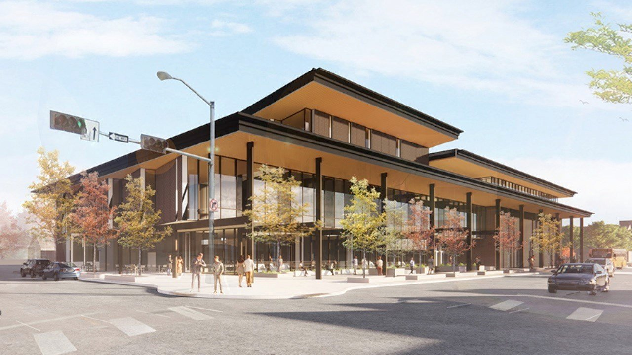 Early concept released of upcoming Columbus Community Center