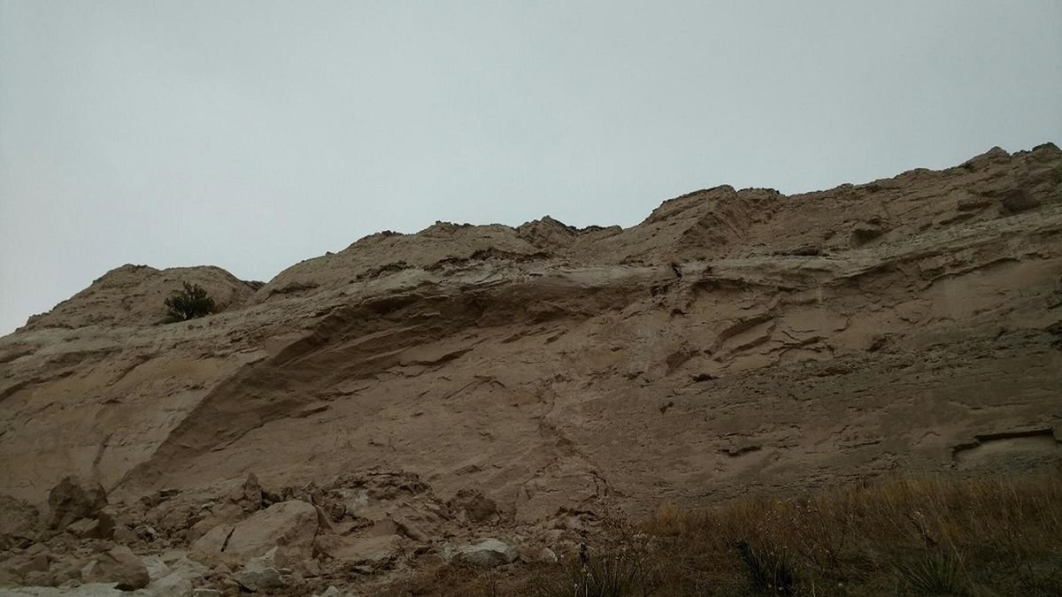 Scotts Bluff National Monument has biggest rockslide in two years