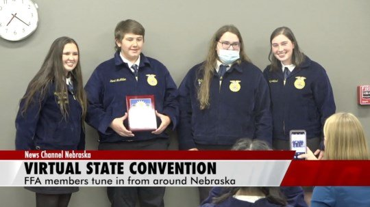 Sidney FFA takes home award in first state convention