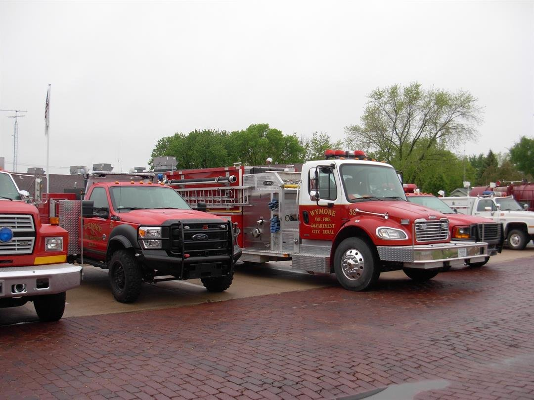 Wymore Firefighters seeking donated vehicles, for training