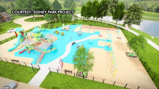 Sidney Park Project receives six-figure matching grant for proposed upgrades in Legion Park