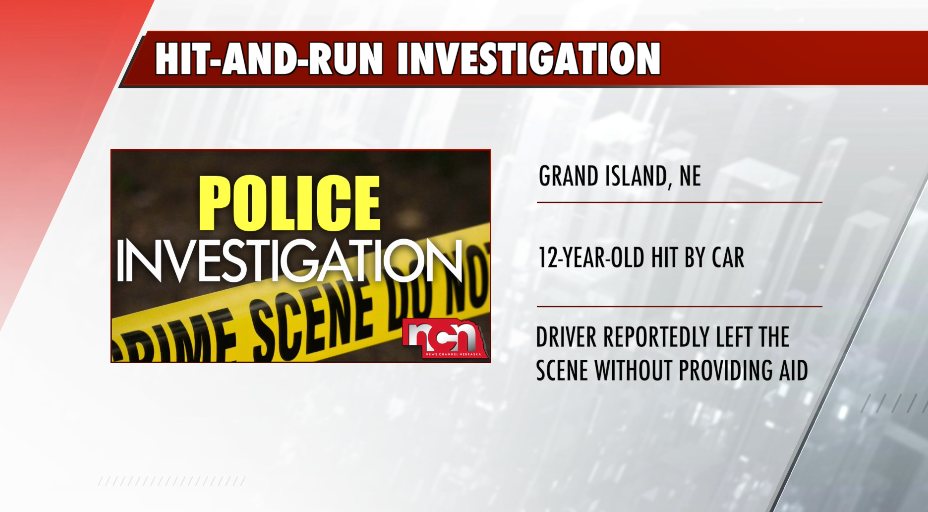 Police searching for suspect in Grand Island hit-and-run
