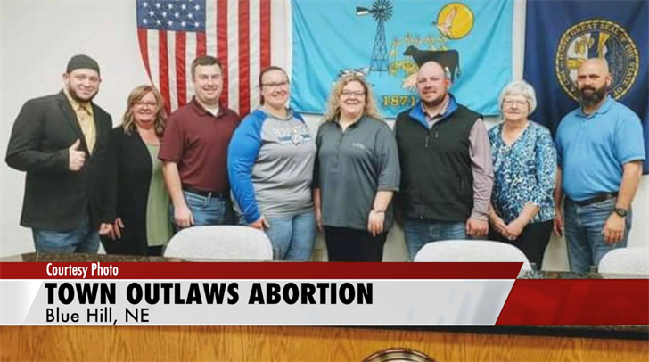 Blue Hill becomes second Nebraska town to outlaw abortion