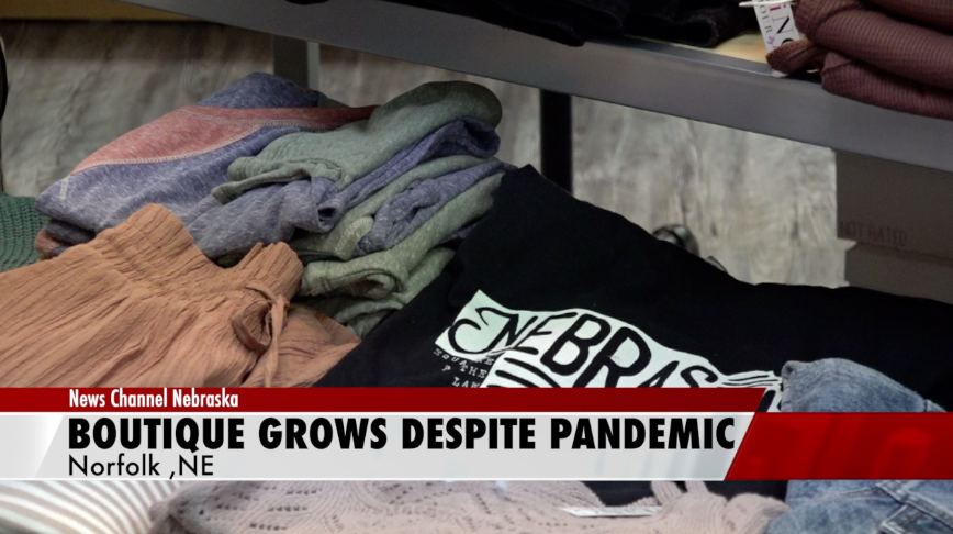 Boutique sees growth in Nebraska despite pandemic