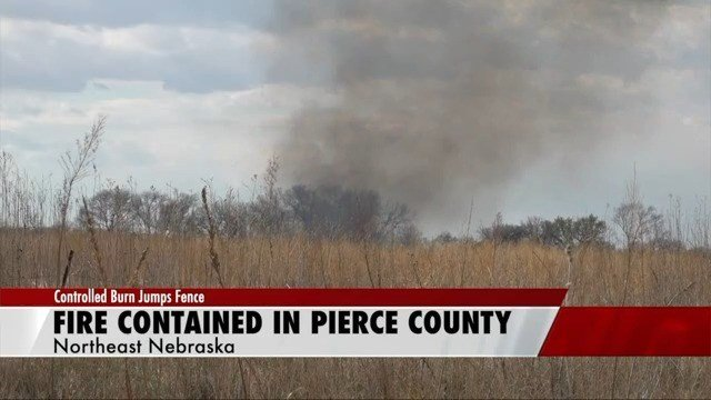 Fire contained after scheduled burn creates county-wide smoke