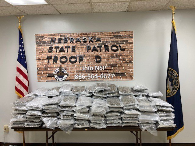 Troopers Find 234 LBs of Marijuana, Arrest Four in Two Traffic Stops