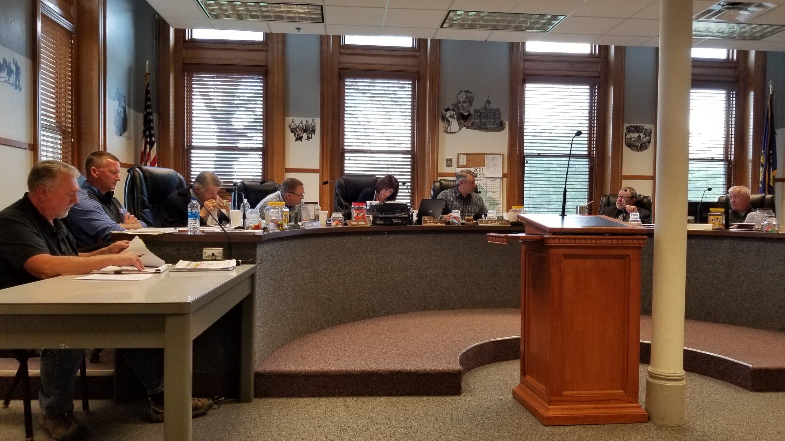 Four mile West Hickory Road stretch moved into Gage County 1-and-6 year plan