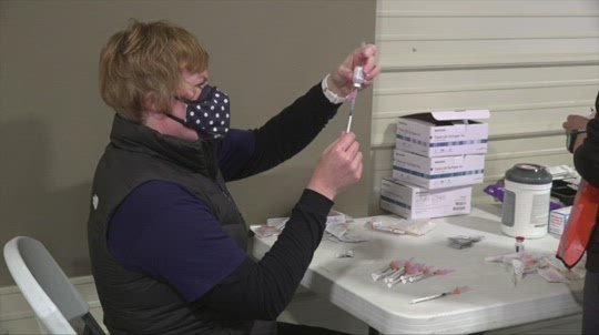 Pace of virus vaccinations slows significantly in Nebraska