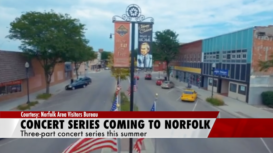 Three-part concert series coming to Norfolk this summer