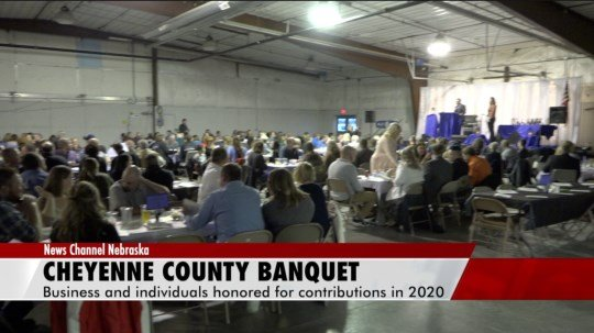 Businesses, individuals honored for accomplishments at Cheyenne County Chamber banquet