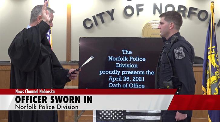 Norfolk Police Division officer sworn in