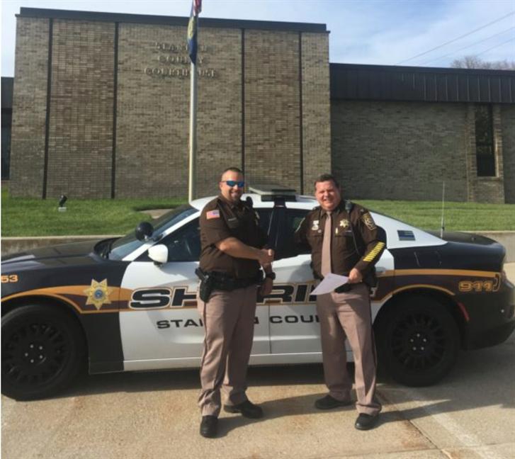 Newest Stanton County Sheriff's Deputy Sworn In