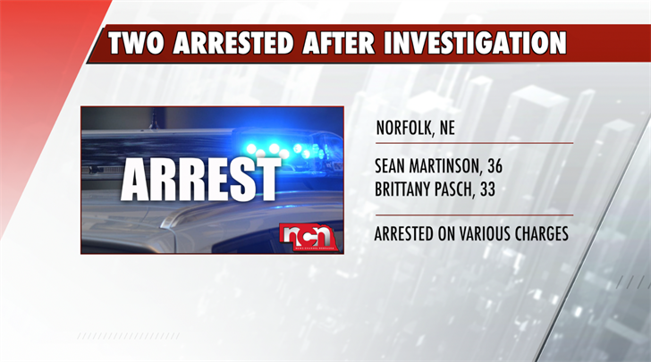Two arrested by Norfolk Police after investigation