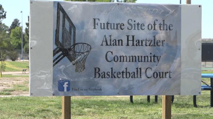 Sidney Community Donor Advised Fund donates to Alan Hartzler Memorial basketball court