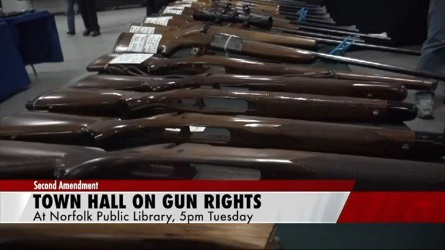 Norfolk hosting gun-rights event at library tonight