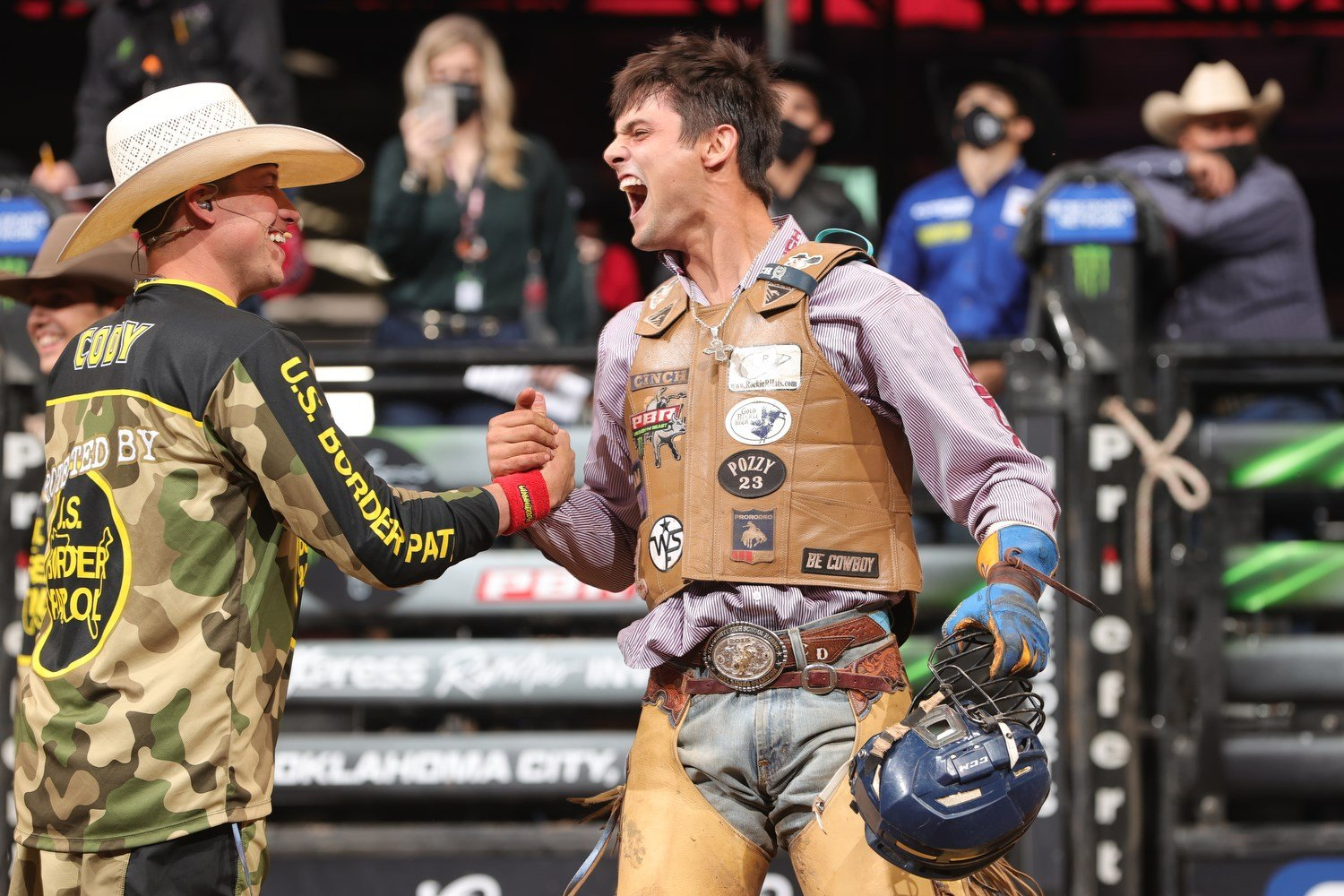 Bull Rider Picks Detroit While in Omaha