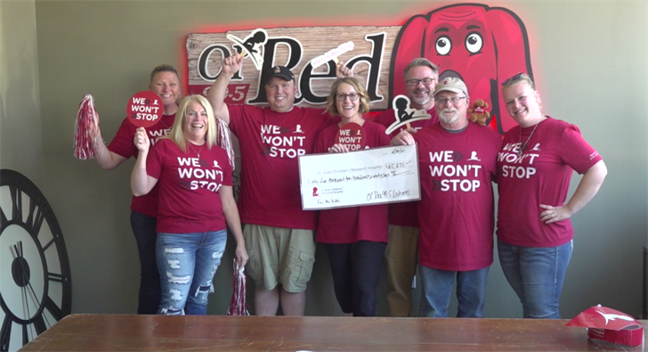 Ol' Red raises $65,271 during St. Jude Radiothon