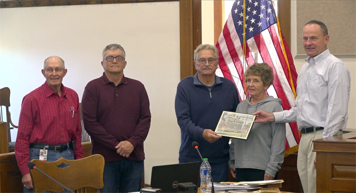 Roger Schoenrock recognized as Jefferson County Veteran of the Month
