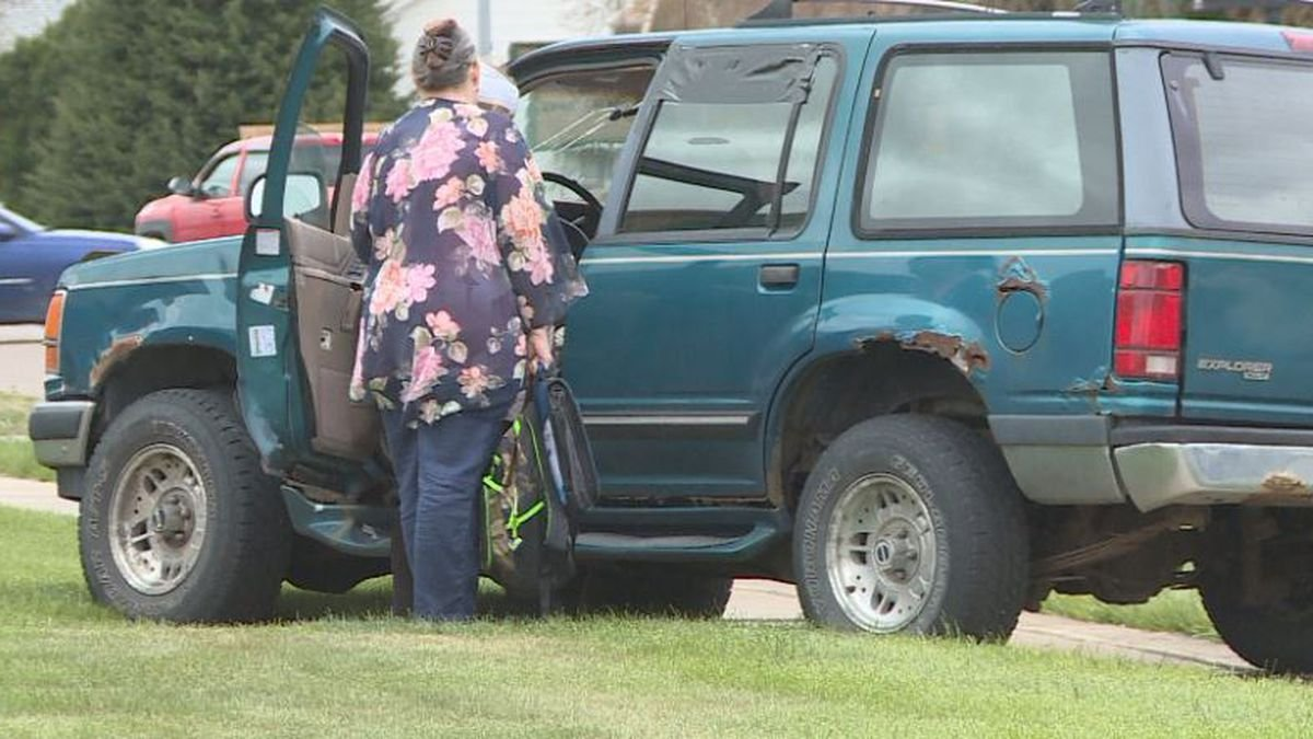 No one hurt in Sunday collision in North Platte