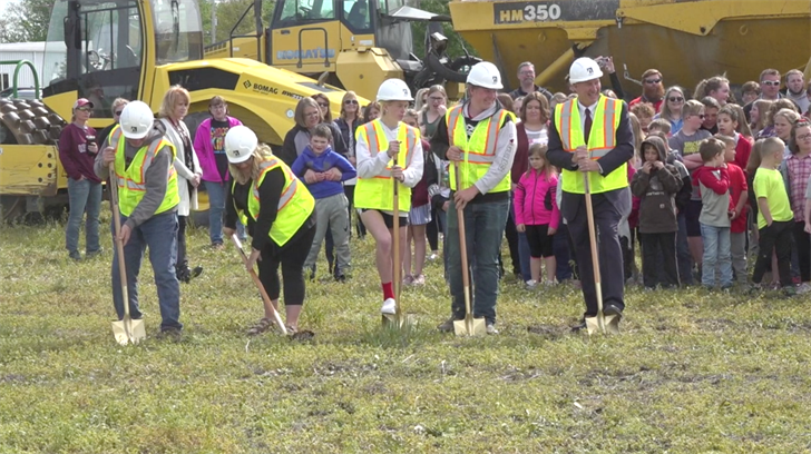 Lewiston breaks ground on $1.5 million track facility paid for by anonymous donor
