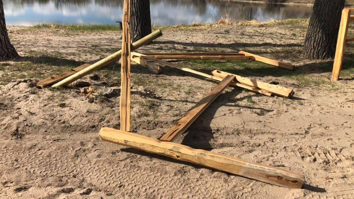 Vandals damage popular Bridgeport recreation area