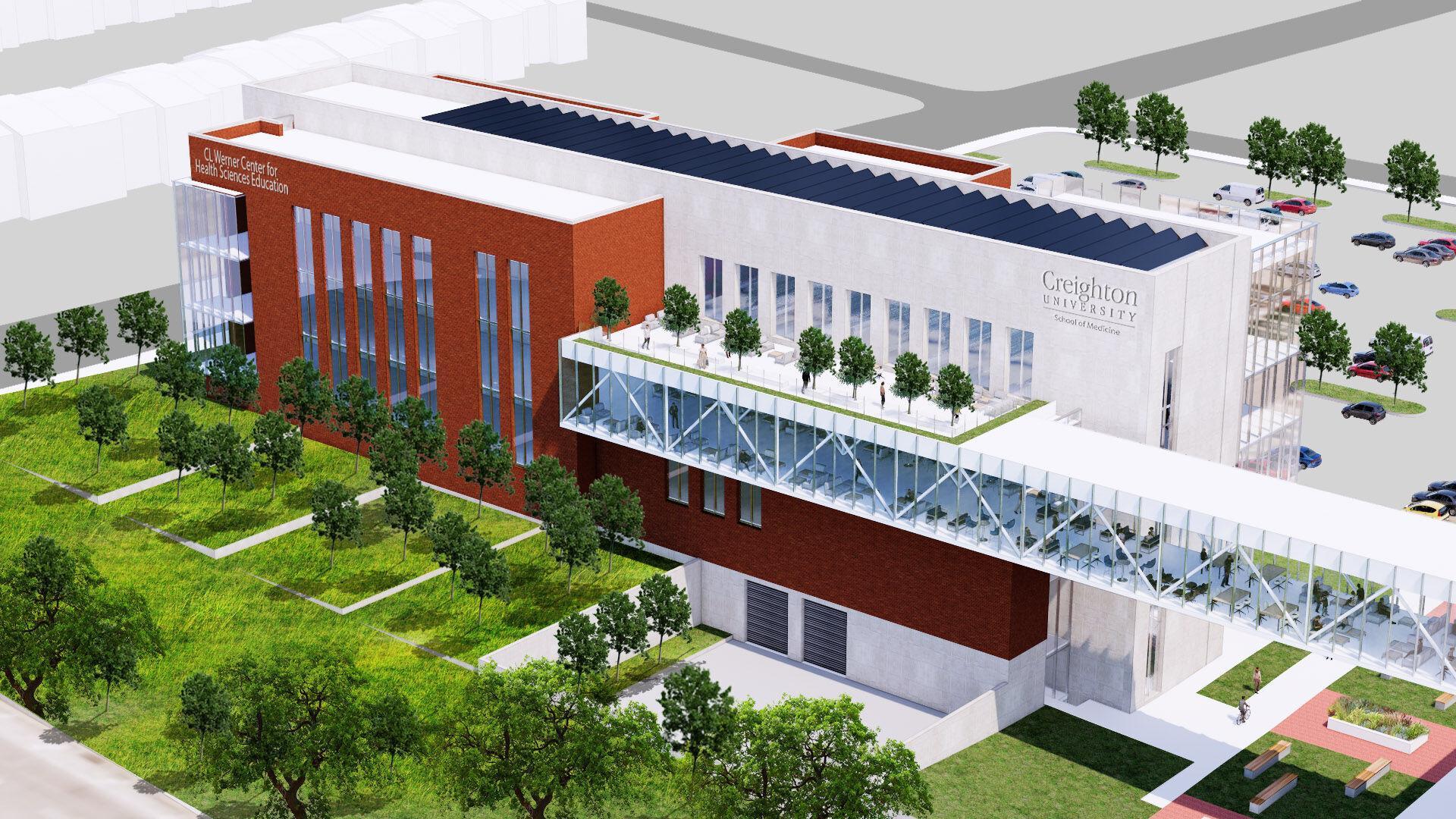 Creighton breaks ground on new home for School of Medicine